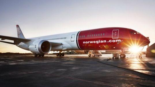Norwegian plane