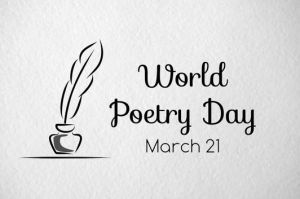 World Poetry Day logo